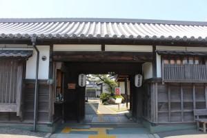 阿波十郎兵衛屋敷入口